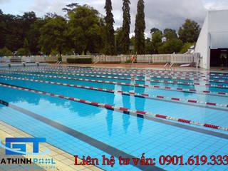 Tư vấn thiết kế hồ bơi thể dục thể thao:  в . Автор – GiaThinhPool - TPHCM
