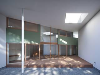 藤原・室 建築設計事務所 Single family home Wood Green