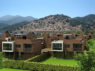 AOG Casas adosadas Ladrillos Blanco