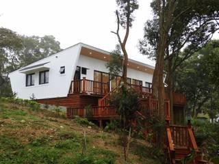 H. Villa 現代房屋設計點子、靈感 & 圖片 根據 CPh ARCh 現代風
