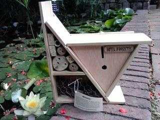 Jardín Ecológico: Jardines con piedras de estilo  de Bio-ideas