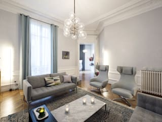 Apartments by 10Surdix / Paris, France AXOLIGHT Living roomLighting