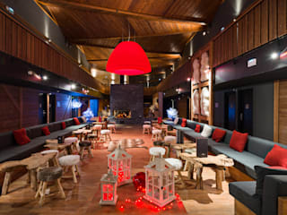 Marmotel Hotel & spa / Pra Loup, France AXOLIGHT オフィス&店