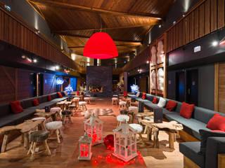 Marmotel Hotel & spa / Pra Loup, France AXOLIGHT Офисные помещения и магазины