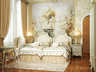 Classic style bedroom by студия Design3F Classic