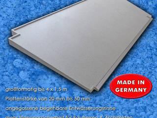 Gefälleplatten von Mineralit - Mineralgusswerk Laage GmbH Minimalistisch