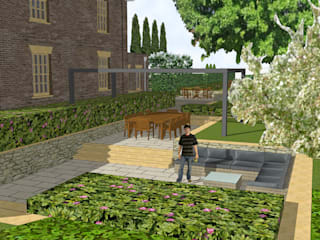 Hertfordshire Country Estate Garden (Braughing) by Aralia 클래식