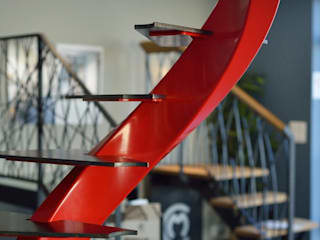 Showroom: Escalier de style  par Creametal