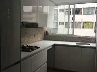 COCINAS CON DETALLE: Cocinas equipadas de estilo  por ok kitchen design
