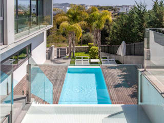 CASA SIENA Casas de estilo minimalista de GUILLEM CARRERA arquitecte Minimalista