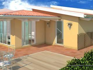 Villa Prefabbricata in Legno: Case in stile in stile Moderno di Avantgarde Construct Luxury Srl