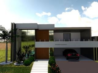 Casa Aldeias do Lago - Projeto em Andamento Casas modernas por Laene Carvalho Arquitetura e Interiores Moderno