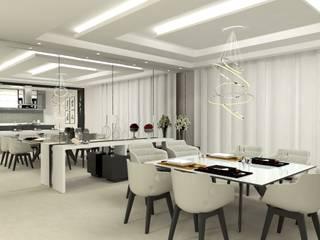 Moderne Esszimmer von Laene Carvalho Arquitetura e Interiores Modern