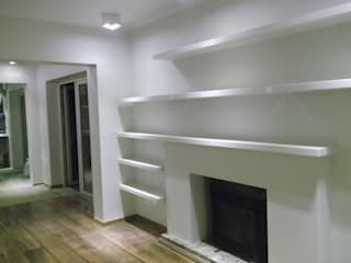 AOG Casas de estilo minimalista Madera Blanco
