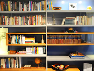 Modern study/office by MARIA FERNANDA PEREIRA Modern
