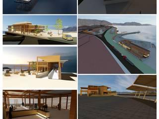 Parque sustentable Casas de estilo industrial de Arqui Bim Integra Industrial