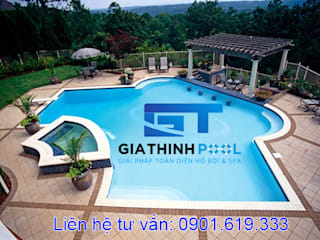 Tu van thiet ke be boi: modern  by GiaThinh Pool,Modern