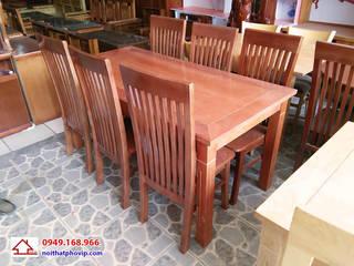 Bàn ghế phòng ăn bởi Đồ gỗ nội thất Phố Vip