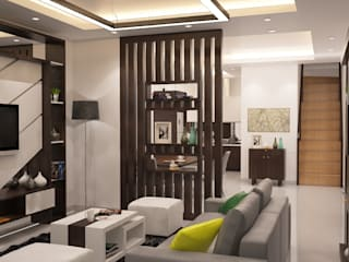 Minimalist Home Project for Mr. R:   by Ruang Sketsa