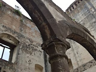Ex-Monasterio Santa Maria Atlihuetzia, Tlaxcala.: Museos de estilo  por Or Design
