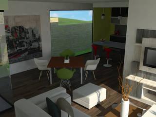 Decoración interior espacios reducidos.:  de estilo  por Or Design