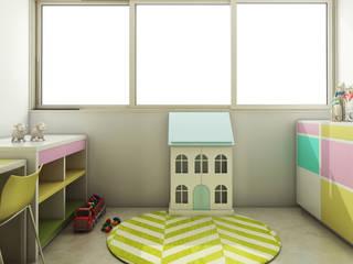 Azjatycki pokój dziecięcy od Spaces Alive Azjatycki