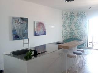 Sapore di Mare Cucina in stile mediterraneo di Studio DeGli Architetti G. De Angelis - F. Glionna Mediterraneo