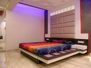 Bedroom Design Ideas:  Bedroom by DHARMA INTERIOR PVT LTD™
