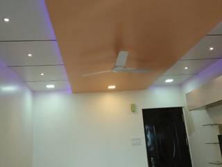 Complete 2 BHK Home Interior Arihant Prathamesh Society, Pune: asian  by Loginwood,Asian