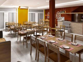 Gastronomi Modern Oleh Fernanda Quelhas Arquitetura Modern