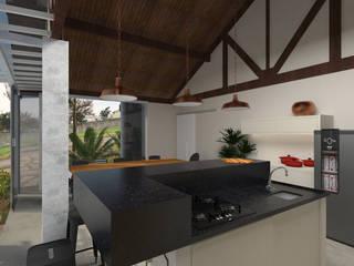 Balkon, Beranda & Teras Modern Oleh Fernanda Quelhas Arquitetura Modern