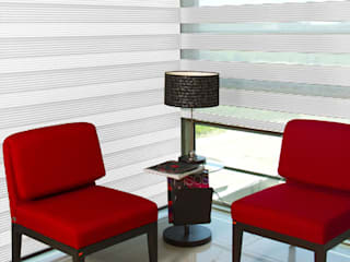 Sheer Elegance Metallic:  de estilo  por Interiorismo 3P