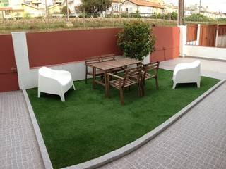 Requalificação jardins: Jardins  por Be On Garden,Moderno