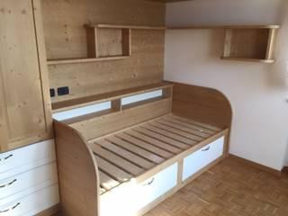 ARREDAMENTI PIVA غرفة نومأسرة نوم خشب Wood effect