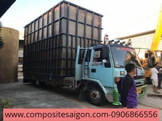 NHẬN LÀM BỒN CHỨA COMPOSITE CÁC LOẠI.:  Bếp xây sẵn by Ngô Gia Phát