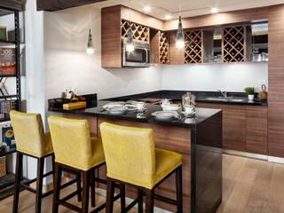 La Patrona Suite at the Sheraton Grand, Hacienda del Mar Hoteles de estilo moderno de Progressive Design Firm Moderno