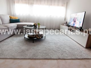 Carpete Sala de Estar:   por IAS Tapeçarias