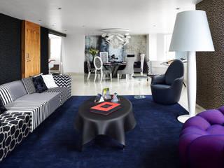 غرفة المعيشة تنفيذ Progressive Design Firm