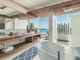 The Solaz, Model Unit Hoteles de estilo moderno de Progressive Design Firm Moderno