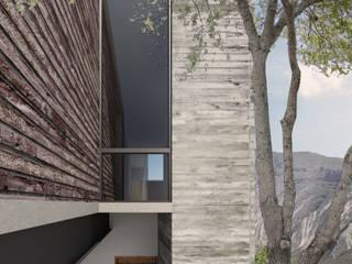 CASA EL YERBANIZ: Casas unifamiliares de estilo  por Atelier Uno