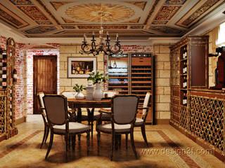 Cave à vin classique par студия Design3F Classique