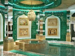 Piscine asiatique par студия Design3F Asiatique