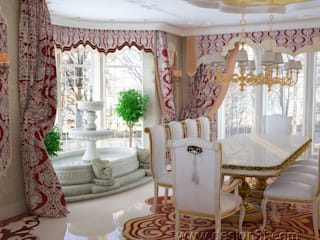 Asian style dining room by студия Design3F Asian