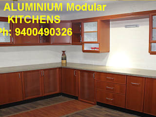 ALUMINIUM KITCHEN BANGALORE    ( LOW COST) 9400490326 Call now Directly:   by VENEZIA Kitchens & Home INTERORS