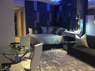 Studio Apartment Modern style bedroom by Adore Design Modern