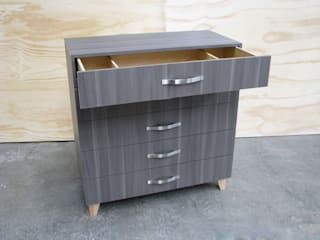 TIRIKI BedroomWardrobes & closets Chipboard Grey