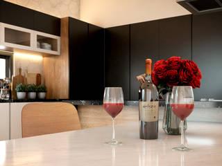 DETALLE: Cocinas equipadas de estilo  por AP Arquitectura