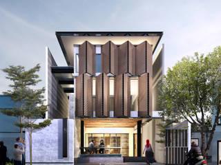 IZ HOUSE:  Rumah tinggal  by Atelier BAOU+
