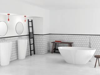 ZICCO GmbH - Waschbecken und Badewannen in Blankenfelde-Mahlow Industrial style bathrooms Marble White