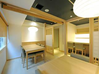 芋つる 西新橋店 モダンなレストラン の 株式会社ウエムラデザイン モダン